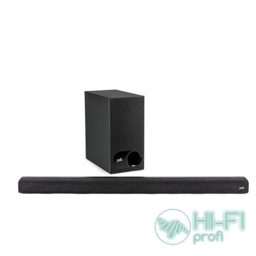 Саундбар с беспроводным сабвуфером: Polk Audio Signa S3 Black