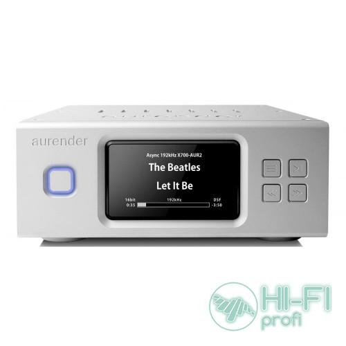 Сетевой аудио Hi-Res сервер/плеер для воспроизведения Aurender N100H (Black/Silver)