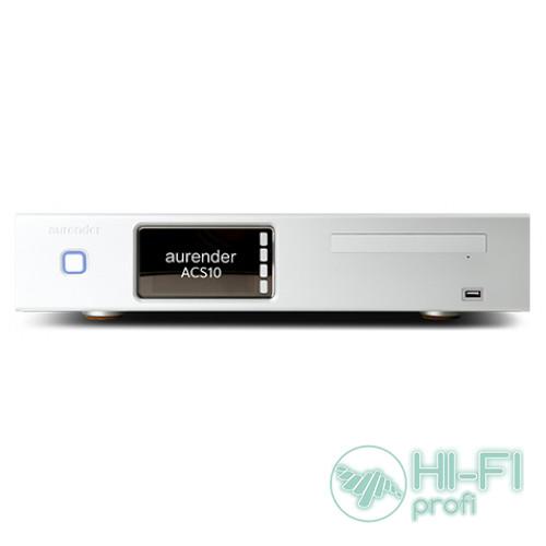 Сетевой аудио Hi-Res сервер/плеер для воспроизведения Aurender ACS10 CD-ripper  (Black/Silver)