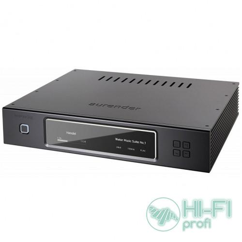 Сетевой аудио Hi-Res сервер/плеер для воспроизведения Aurender N10 8Tb  (Black/Silver)