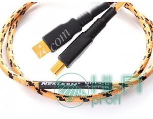 Кабель USB Neotech NEUB-3020-USB 2.0 A-B-UPOCC Copper-1.5 m