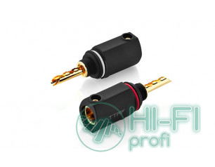 Разъемы для акустических кабелей TTAF 93407 Black Banana Connector, пара