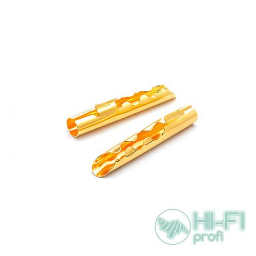 Разъемы для акустических кабелей TTAF 93404 BFA Banana Gold, пара