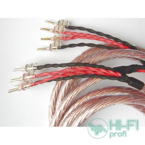 Кабель акустический готовый TTAF 93294 Bi-Wire 2х2m