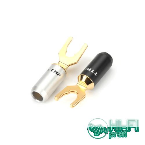 Разъемы для акустических кабелей TTAF 93189/93190 Professional Spade, пара