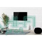 Тумба для ТВ Sonorous STA 160 белый корпус/фасад белое стекло фото 6