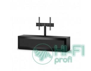 ТВ тумба с кронштейном Sonorous STA 161 черный корпус/фасад чёрное стекло