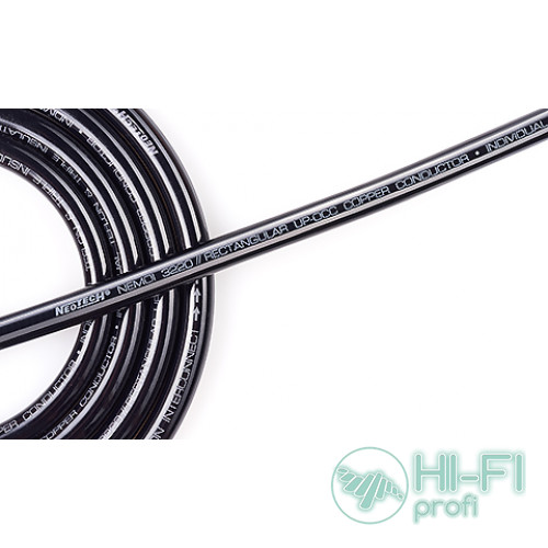 Кабель межблочный в бухте Neotech NEMOI-3220 Rectangular UPOCC interconnect cable