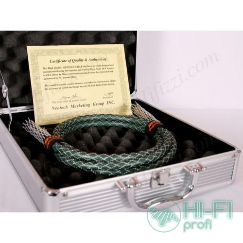 Кабель межблочный Neotech NEI-2002 Pure Silver 2x1m AL case