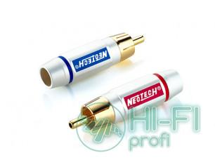 Разъемы для межблочных кабелей Neotech DG-203 RCA, пара