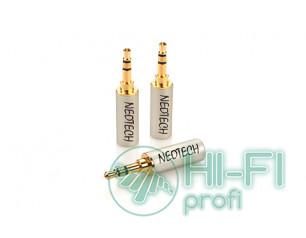 Разъемы для межблочных кабелей Neotech DG-203 3,5 mm stereo plug 4mm