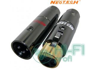 Разъемы для межблочных кабелей Neotech NEX-OCC Rhodium UPOCC XLR, пара