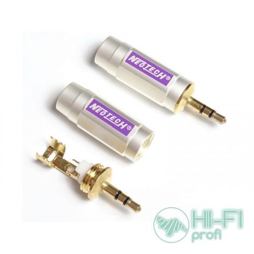 Разъемы для межблочных кабелей Neotech DG-203 3,5 mm Stereo Plug