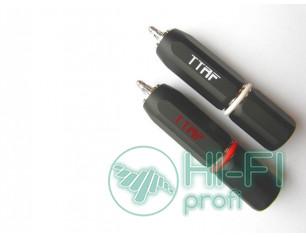Разъемы для межблочных кабелей TTAF RCA 93271/272 Professional Rhodium, пара
