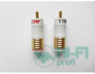 Разъемы для межблочных кабелей TTAFTTAF RCA 93239/240, пара
