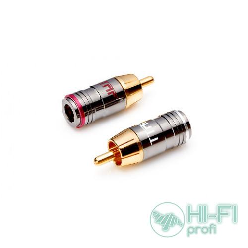 Разъемы для межблочных кабелей TTAF 93151 Professional RCA Connector, пара