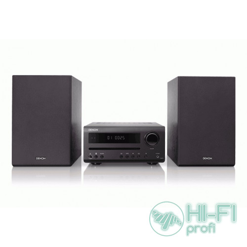 CD-мини система с Bluetooth Denon DT1 Black