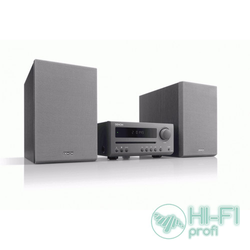CD-мини система с Bluetooth Denon DT1 Grey