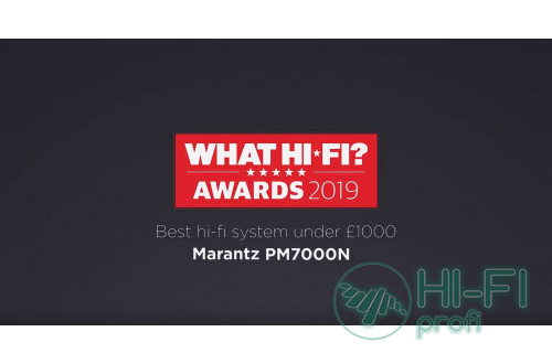 "Marantz PM7000N - переможець ""What Hi-Fi? Awards 2019 """