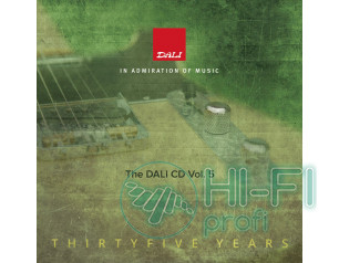 Тестовый CD-диск DALI CD Volume 5
