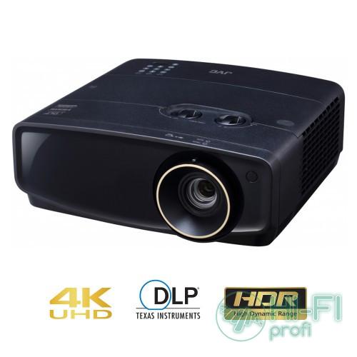 Кінотеатральний DLP проектор 4K JVC LX-UH1 Black