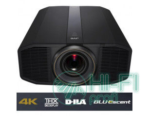 Кинотеатральный D-ILA проектор с лазерно-фосфорным источником света 4K 3D JVC DLA-Z1 Black