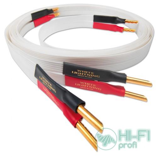 Кабель акустический Nordost White lightning,2x3 m is terminated with low-mass Z plugs