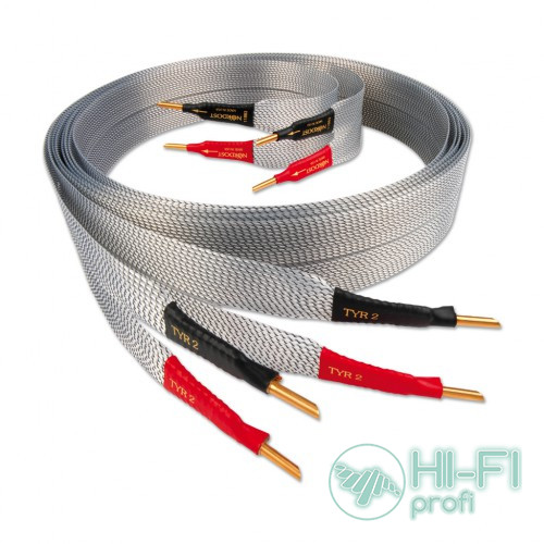 Кабель акустичний Nordost Tyr-2 ,2x2m is terminated with low-mass Z plugs