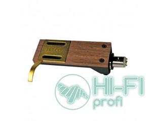 Майданчик для кріплення головки звукознімача TONAR Rosewood shell with silver wires art. 5327