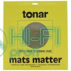 Мат из пробкового дерева для опорного диска винилового проигрывателя Tonar Cork-Rubber Mat art.5974 фото 2