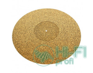 Мат из пробкового дерева для опорного диска винилового проигрывателя Tonar Cork-Rubber Mat art.5974