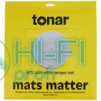 Мат акриловый для опорного диска винилового проигрывателя Tonar Pure White Perspex Mat art.5976 фото 3