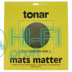 Мат антистатичний для опорного диска Вінілового програвача Tonar Nostatic Mat II  art. 5312 фото 2
