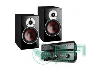 Комплект CD-плеєр Denon DCD-520AE + стерео-Підсилювач Denon PMA-520AE + DALI Zensor 3
