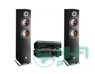 Комплект CD/SACD-плеєр Denon DCD-1600NE + стерео-Підсилювач Denon PMA-1600NE + DALI Oberon 7