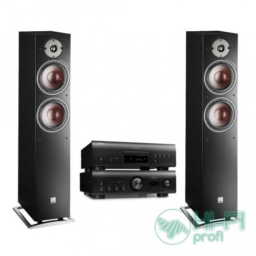 Комплект CD/SACD-плеер Denon DCD-1600NE + стерео-усилитель Denon PMA-1600NE + DALI Oberon 7