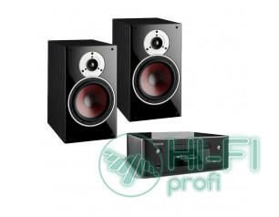 Комплект сетевой CD-ресивер Denon CEOL RCD-N10 + акустическая пара DALI Zensor 3