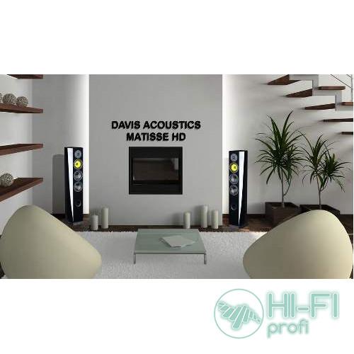 Акустическая система Davis Acoustics MATISSE HD Black piano