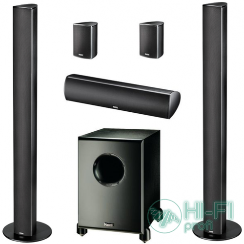 Комплект акустики 5.1 Magnat Needle 9000 Alu black