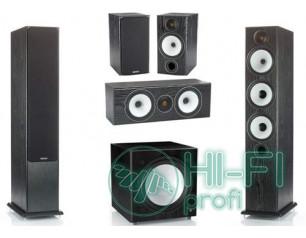 Комплект акустики 5.1 Monitor Audio BX6 black oak + сабвуфер BXW10