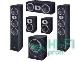Комплект акустики 5.1 HECO Victa Prime 702 black set