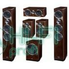 Комплект акустики 5.1 HECO Celan GT 702 + сабвуфер GT Sub 322 HG espresso фото 2