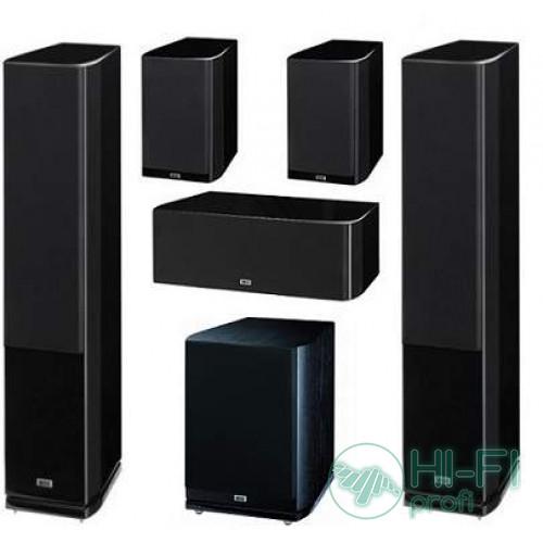 Комплект акустики 5.1 HECO Celan GT 702 + сабвуфер GT Sub 322 HG black