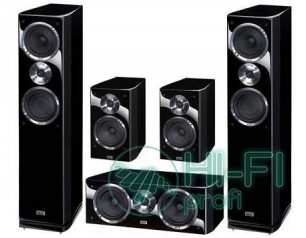 Комплект акустики 5.0 HECO Celan GT 502 HG black