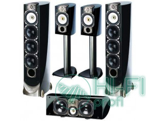 Комплект акустики 5.0 Paradigm Studio 100 черный лак