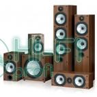 Комплект акустики 5.1 Monitor Audio MR6 + сабвуфер MRW-10 walnut фото 6