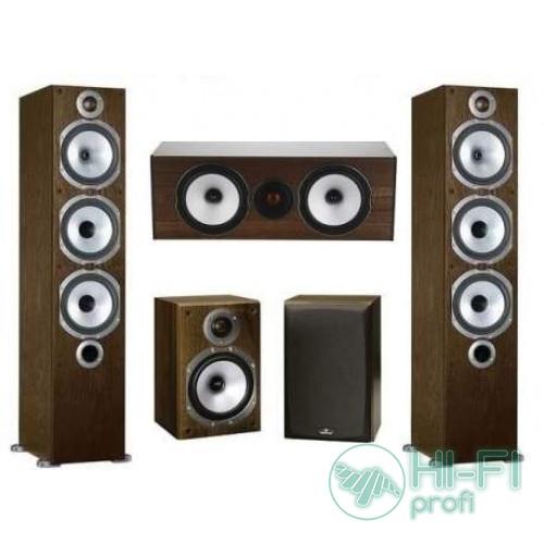 Комплект акустики 5.0 Monitor Audio MR6 set walnut