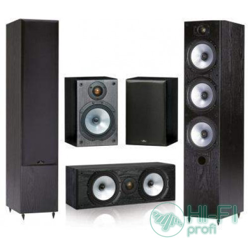 Комплект акустики 5.0 Monitor Audio MR6 set black