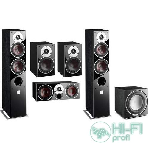 Комплект акустики 5.1 Dali Zensor 5 black set
