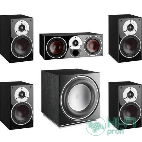 Комплект акустики 5.1 Dali Zensor 1 black set